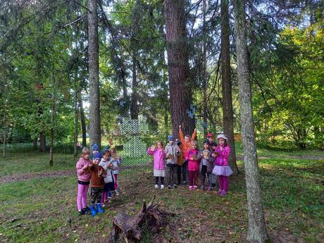 Mācāmies mežiņā!