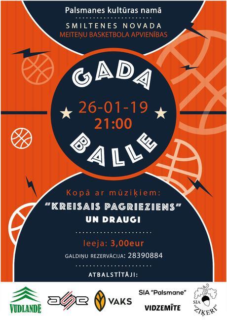 Basketbola GADA BALLE.