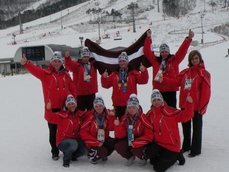 Mūsu sasniegumi ziemas sporta spēles Pyeong Chang 2013