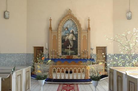 Noslēdzas Palsmanes baznīcas rituālu priekšmetu izpēte