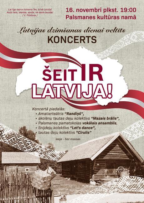 Svinam Latvijas dzimšanas dienu!