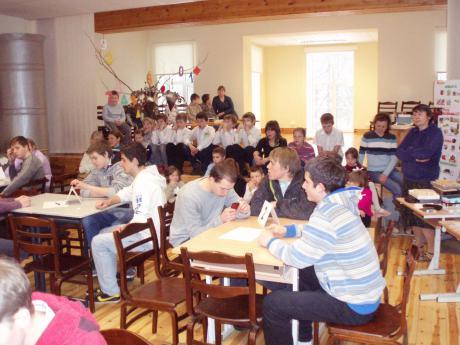 Matemātikas un informātikas mēnesis Palsmanes speciālajā internātpamatskolā