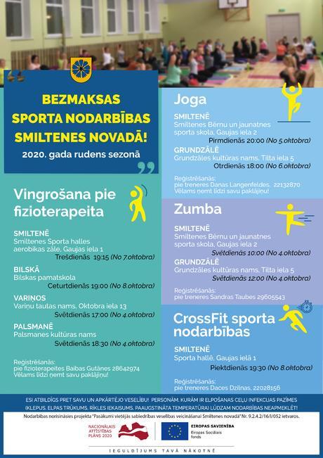 Sporta nodarbības